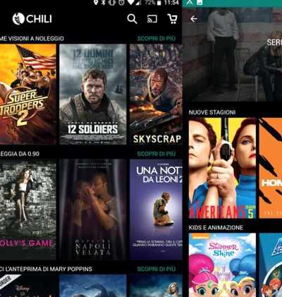 reklama chili filmy